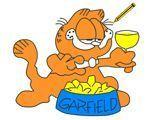 Обед Гарфилда - Garfield-s feast